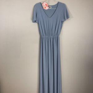 Show Me Your Mumu Steel Blue Michelle Dress M